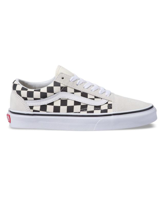 Vans Old Skool Checkerboard (white/black)