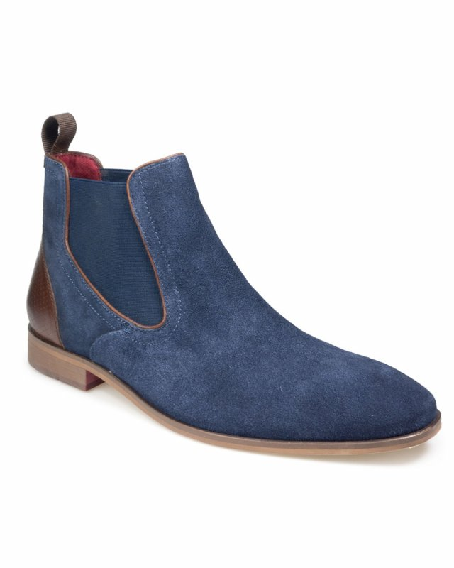 Pod Paul O'Donnell Phoenix 2 Chelsea Boot (navy suede)