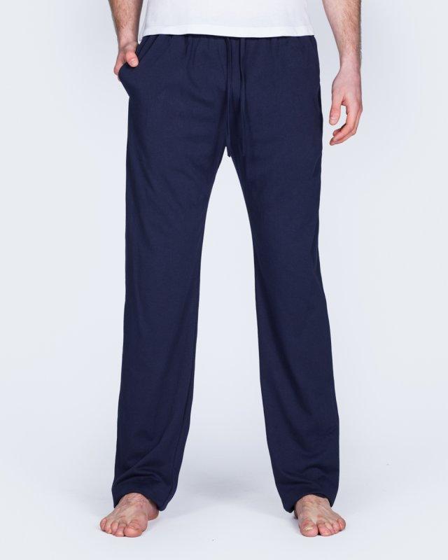 2t Tall Regular Fit Pyjama Bottoms (plain navy)