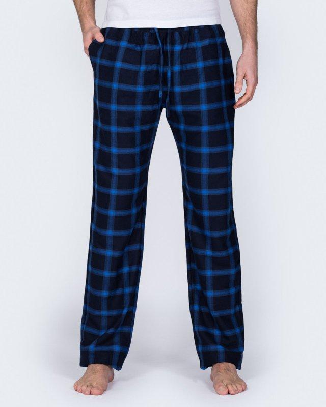 2t Tall Regular Fit Pyjama Bottoms (navy/blue)