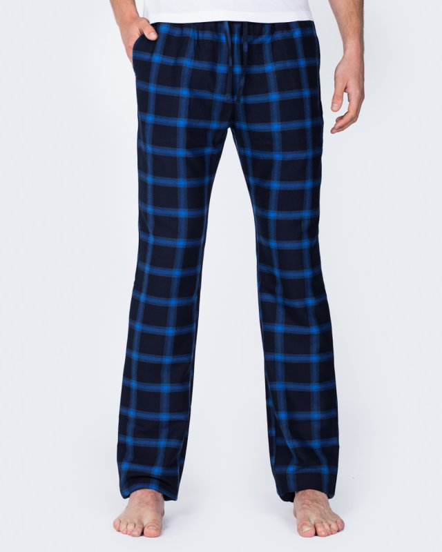 2t Tall Slim Fit Pyjama Bottoms (navy/blue)