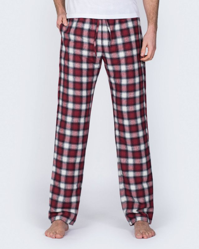2t Tall Regular Fit Pyjama Bottoms (berry)