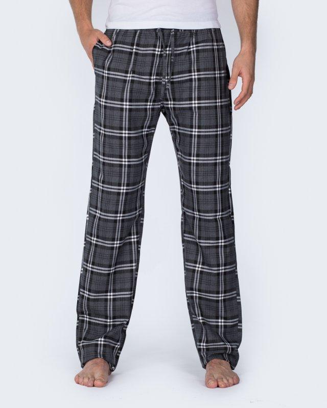 2t Tall Regular Fit Pyjama Bottoms (grey)