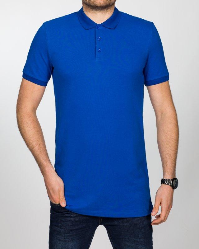2t Slim Fit Tall Polo Shirt (royal blue)