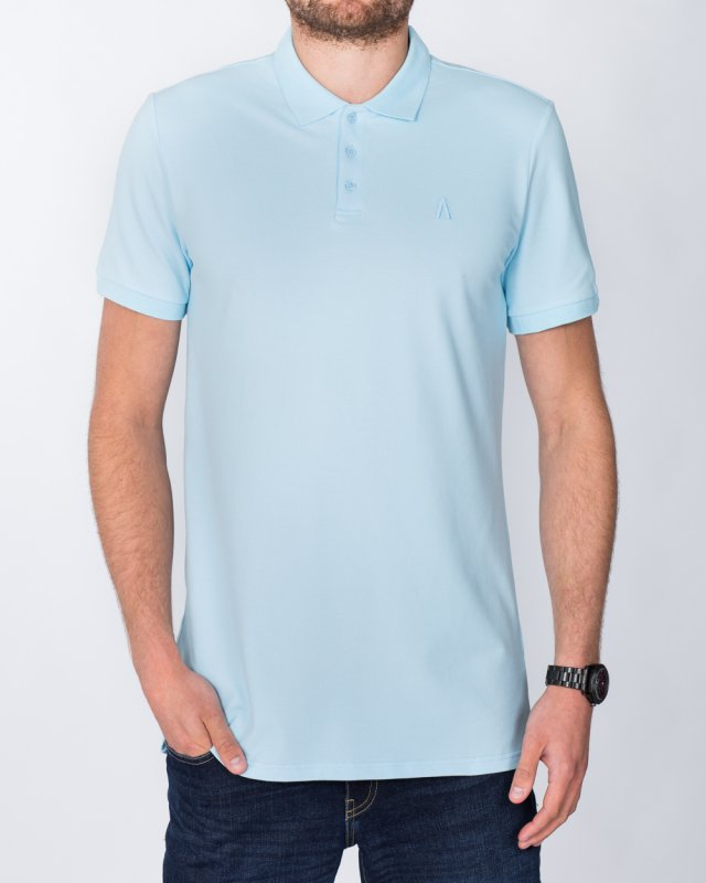 2t Slim Fit Tall Polo Shirt (sky)