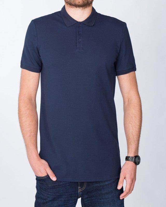 2t Slim Fit Tall Polo Shirt (navy)