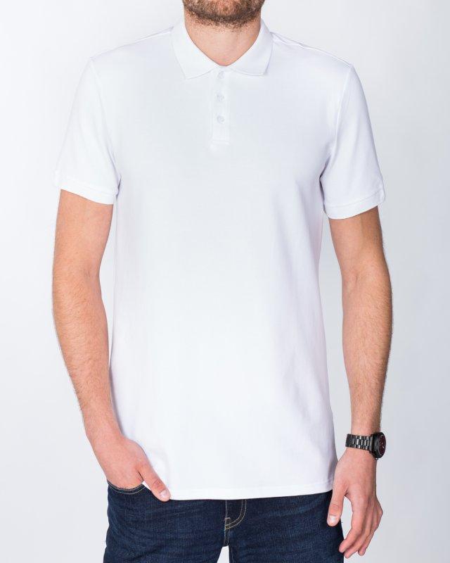 2t Slim Fit Tall Polo Shirt (white)