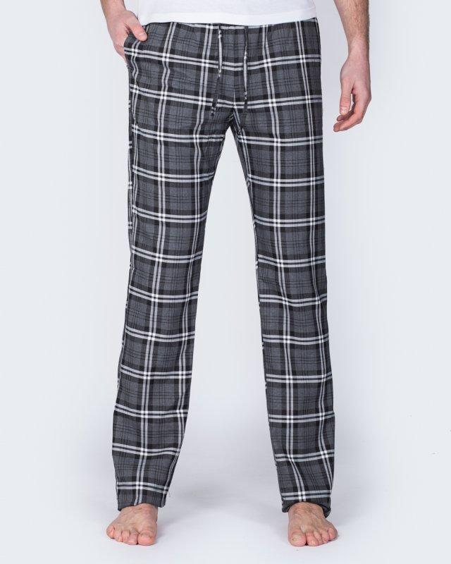 2t Tall Slim Fit Pyjama Bottoms (grey)