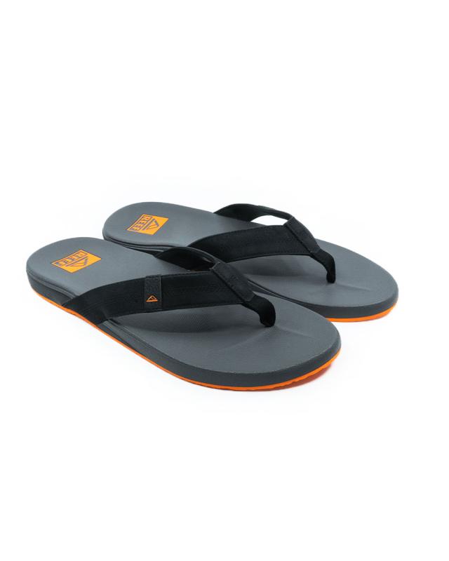 Reef Cushion Phantom Flip Flops (black/orange)