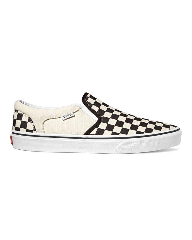 Vans Asher Checkers (black/natural)