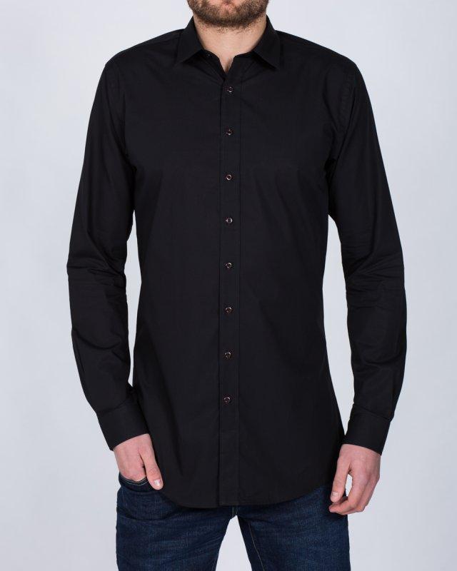 2t Essentials Slim Fit Tall Shirt (black)