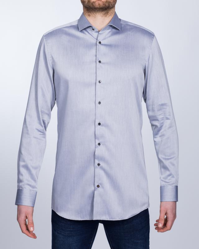 Eterna Slim Fit Tall Shirt (light grey)