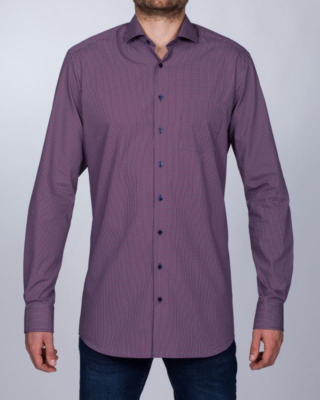 Eterna Modern Fit Tall Shirt (purple)