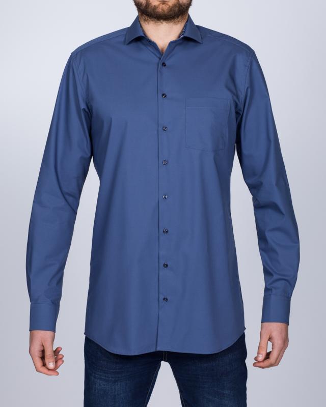 Eterna Modern Fit Tall Shirt (slate)