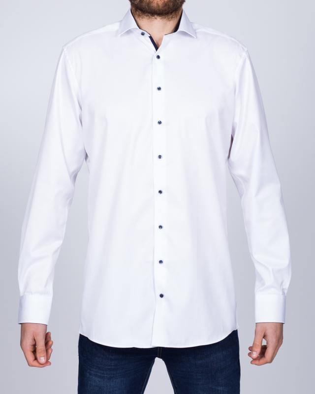 Eterna Modern Fit Tall Opaque Shirt (white)