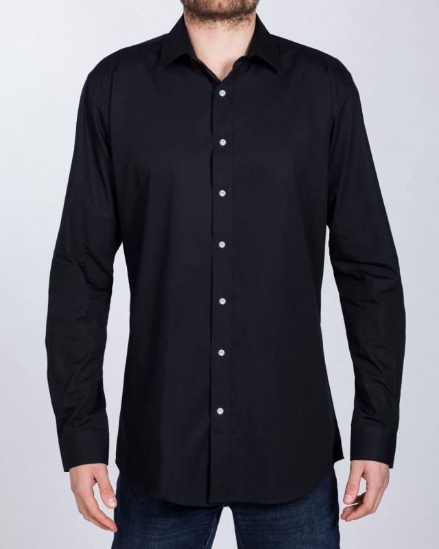 2t Essentials Regular Fit Tall Shirt (black)