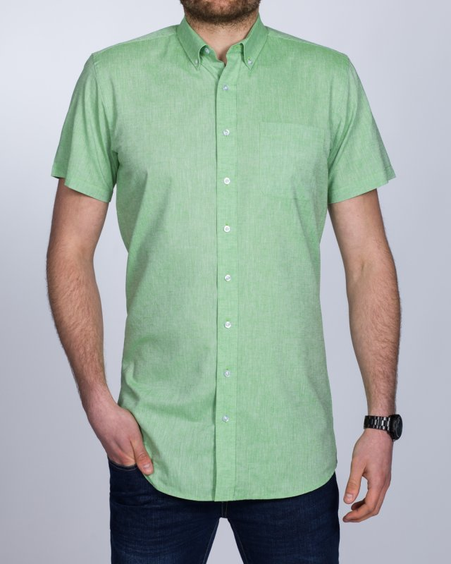 2t Slim Fit Short Sleeve Tall Shirt (green)