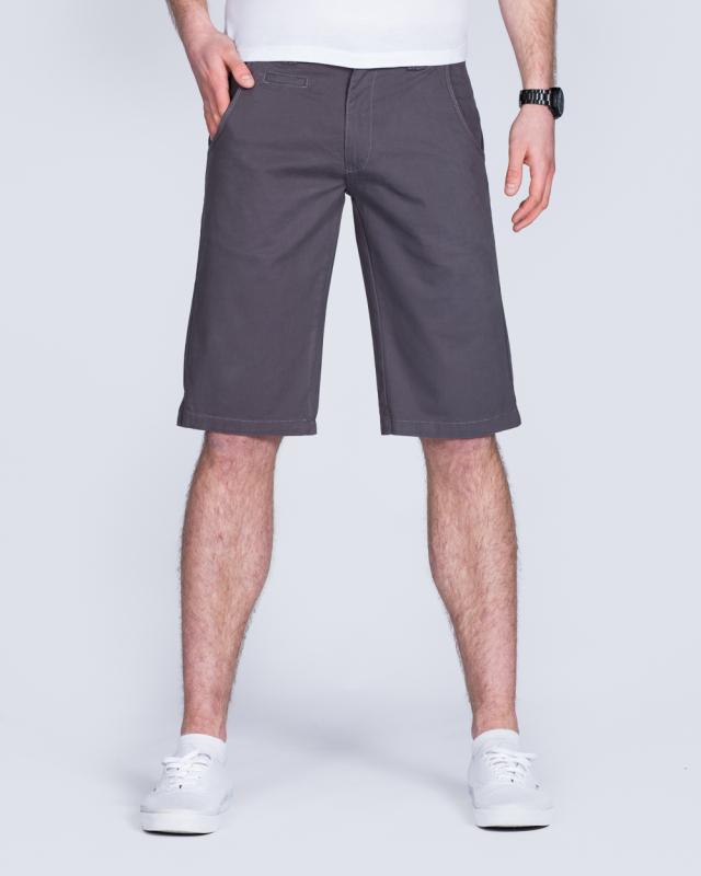 2t Tall Chino Shorts (steel grey)