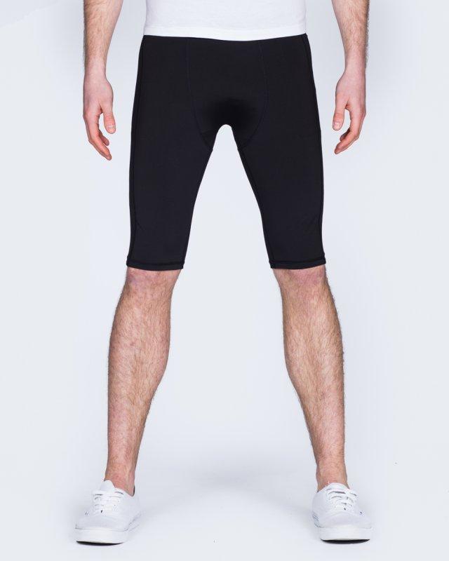 2t Tall Compression Shorts (black)
