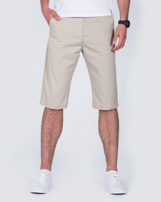 Ed Baxter Marakesh Tall Chino Shorts (beige)
