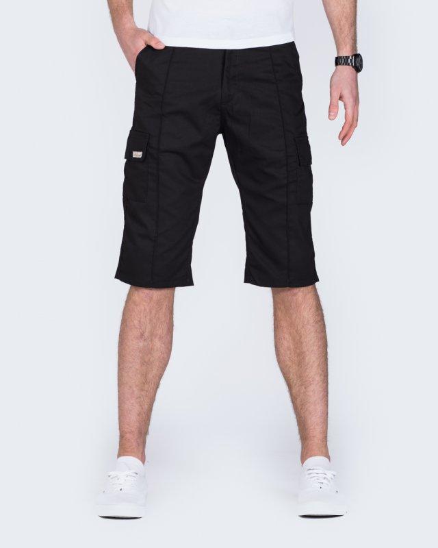 Ed Baxter Tall Workwear Shorts (black)