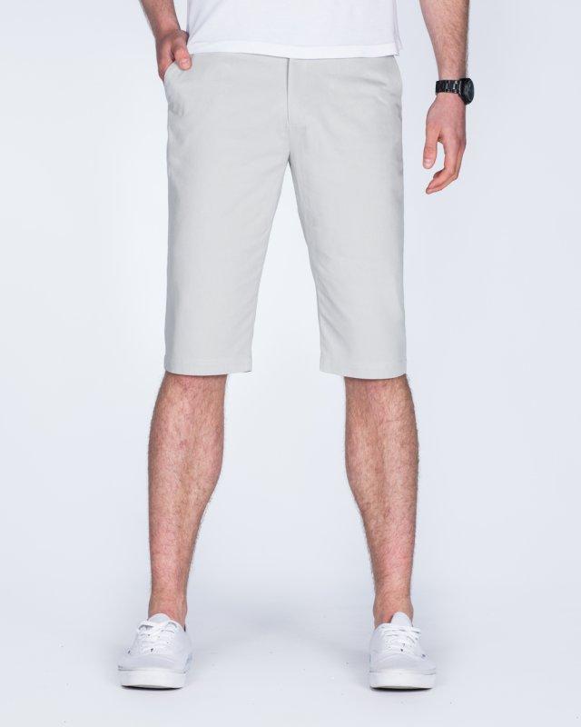 2t Alex Tall Chino Shorts (light grey)
