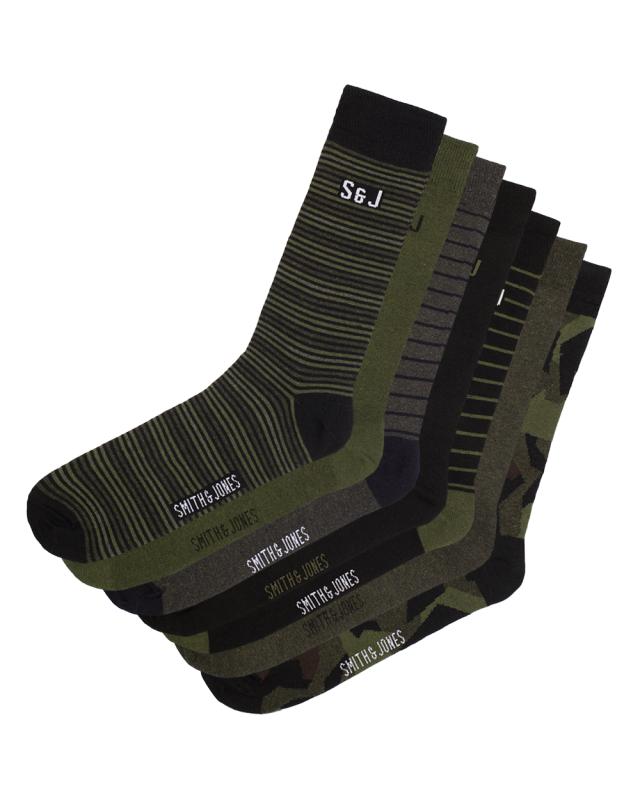 SJ Bilboa Socks 7 Pairs