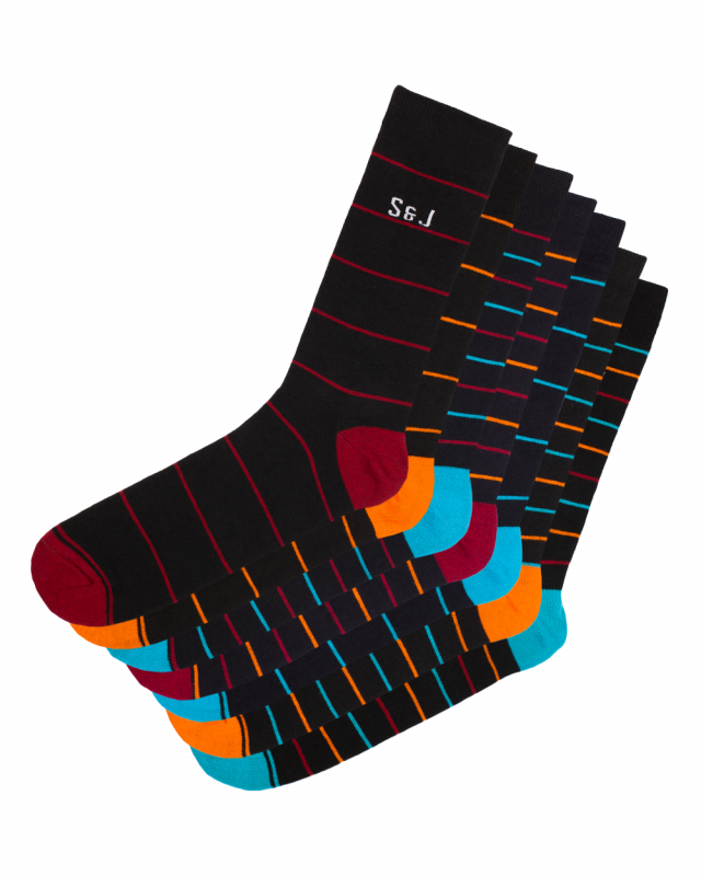 SJ Tyroe Socks 7 Pairs
