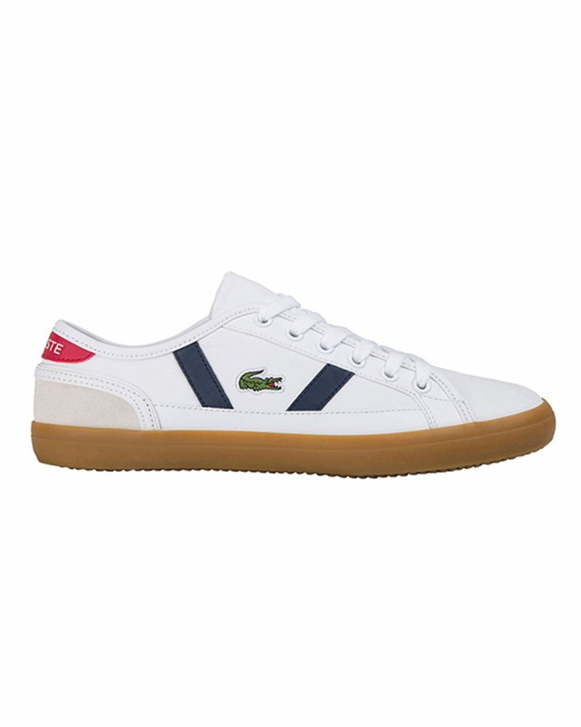 Lacoste Sideline 0120 2 CMA (white/navy/red)