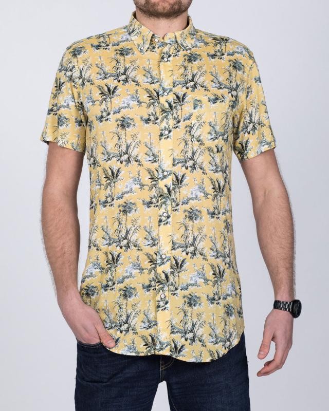 2t Short Sleeve Tall Shirt (sand)