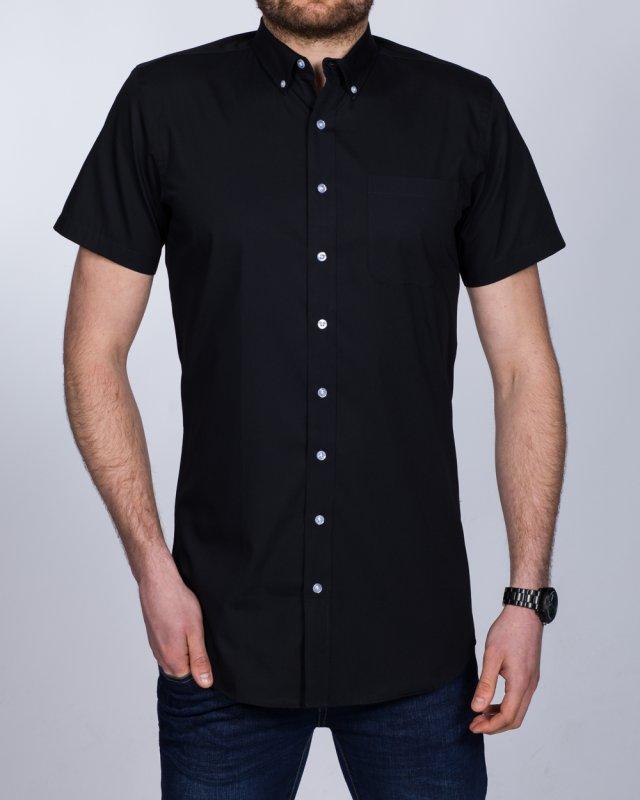 2t Slim Fit Short Sleeve Tall Shirt (black)