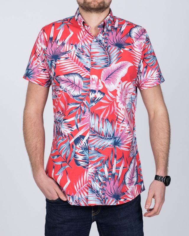 2t Short Sleeve Tall Shirt (hawaiian print)
