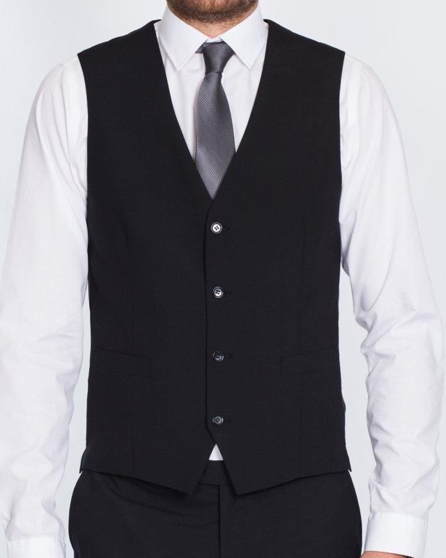 Skopes Regular Fit Tall Waistcoat (black)