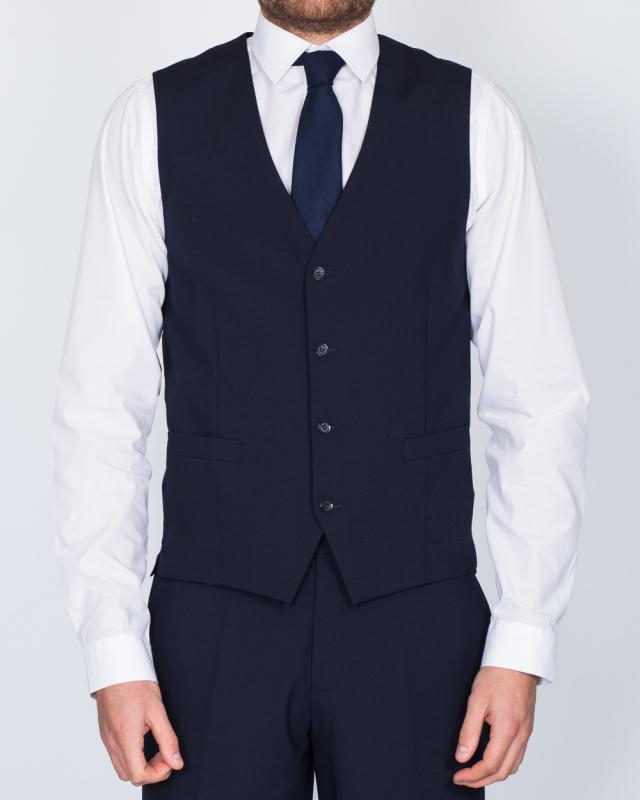 Skopes Regular Fit Tall Waistcoat (navy)