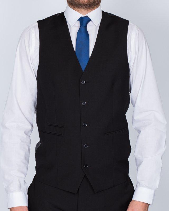 Skopes Slim Fit Tall Waistcoat (black)