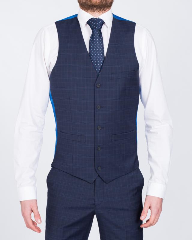 Hugo James Ronson Slim Fit Tall Waistcoat (navy)