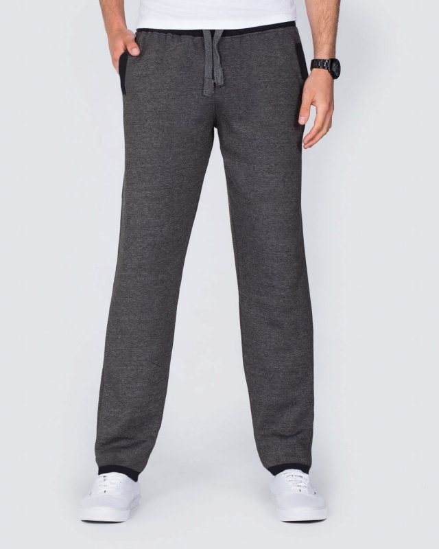 2t Regular Fit Sweat Pants (charcoal/black)