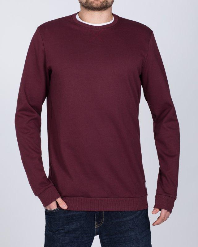 2t Tall Regular Fit Sweatshirt (burgundy)