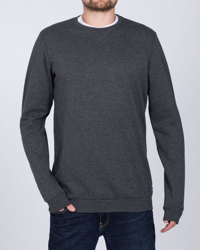 2t Tall Regular Fit Sweatshirt (charcoal)