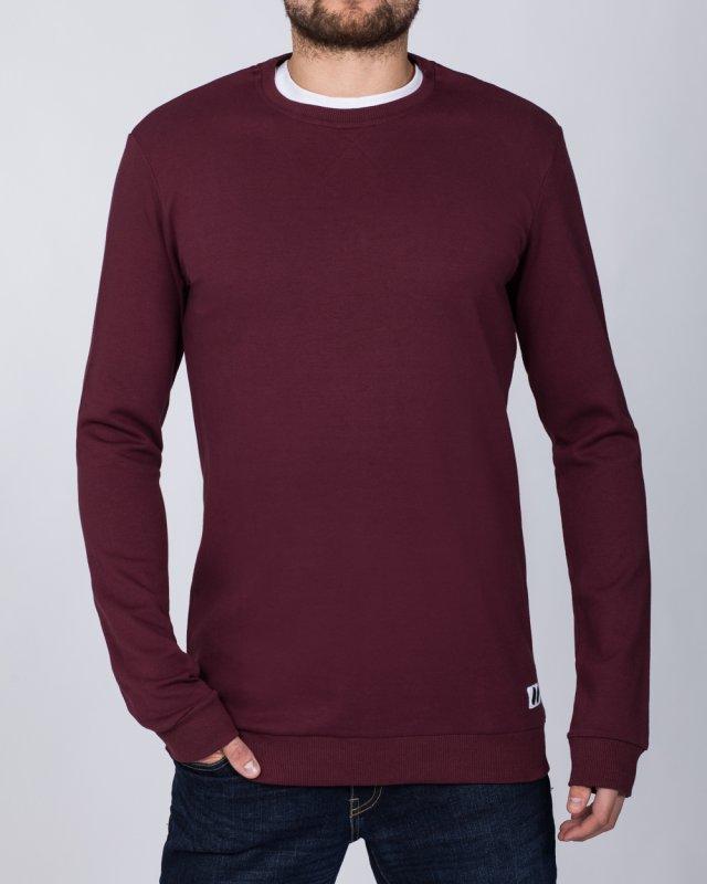 2t Tall Slim Fit Sweatshirt (burgundy)