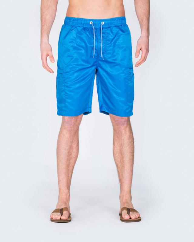2t Tall Cargo Swim Shorts (royal blue)