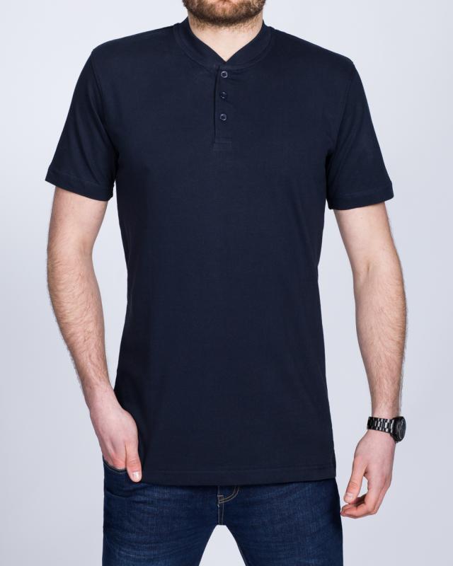 2t Tall Henley T-Shirt (navy)