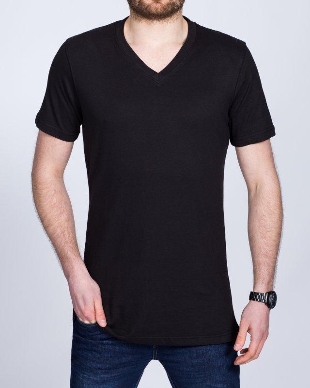2t Tall V-Neck T-Shirt (black)