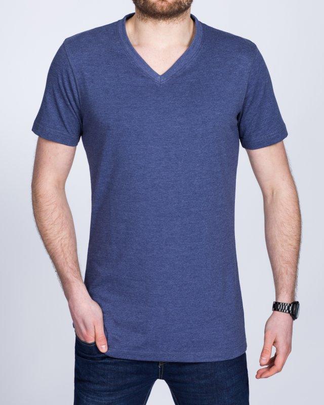 2t Tall V-Neck T-Shirt (indigo)