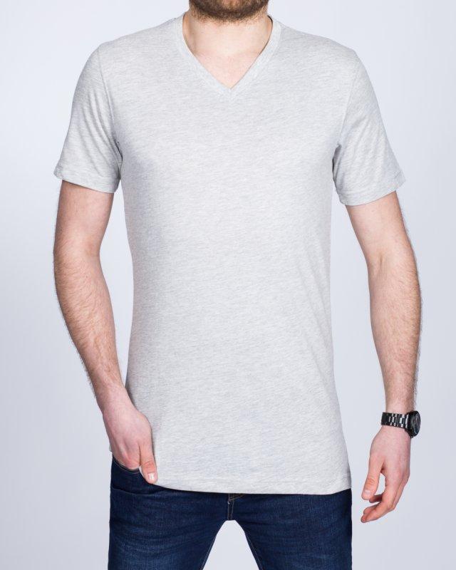2t Tall V-Neck T-Shirt (heather grey)