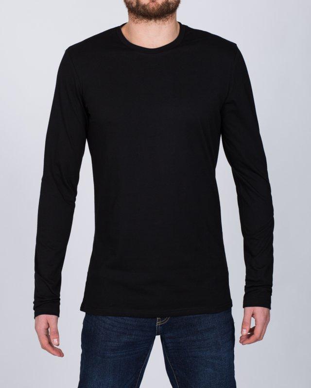 2t Tall Long Sleeve T-Shirt (black)