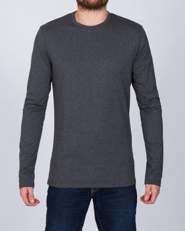 2t Tall Long Sleeve T-Shirt (charcoal)