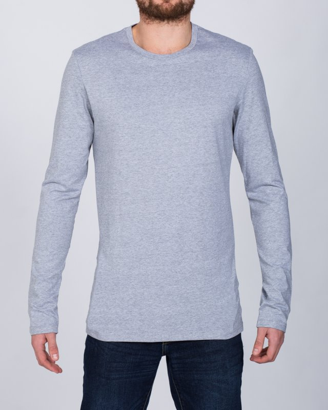 2t Tall Long Sleeve T-Shirt (heather grey)