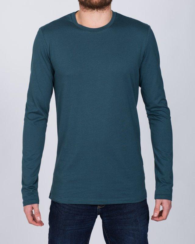 2t Long Sleeve Tall T-Shirt (petrol)