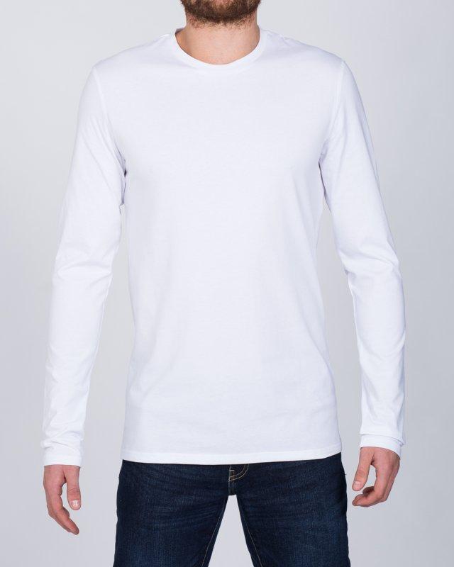 2t Tall Long Sleeve T-Shirt (white)